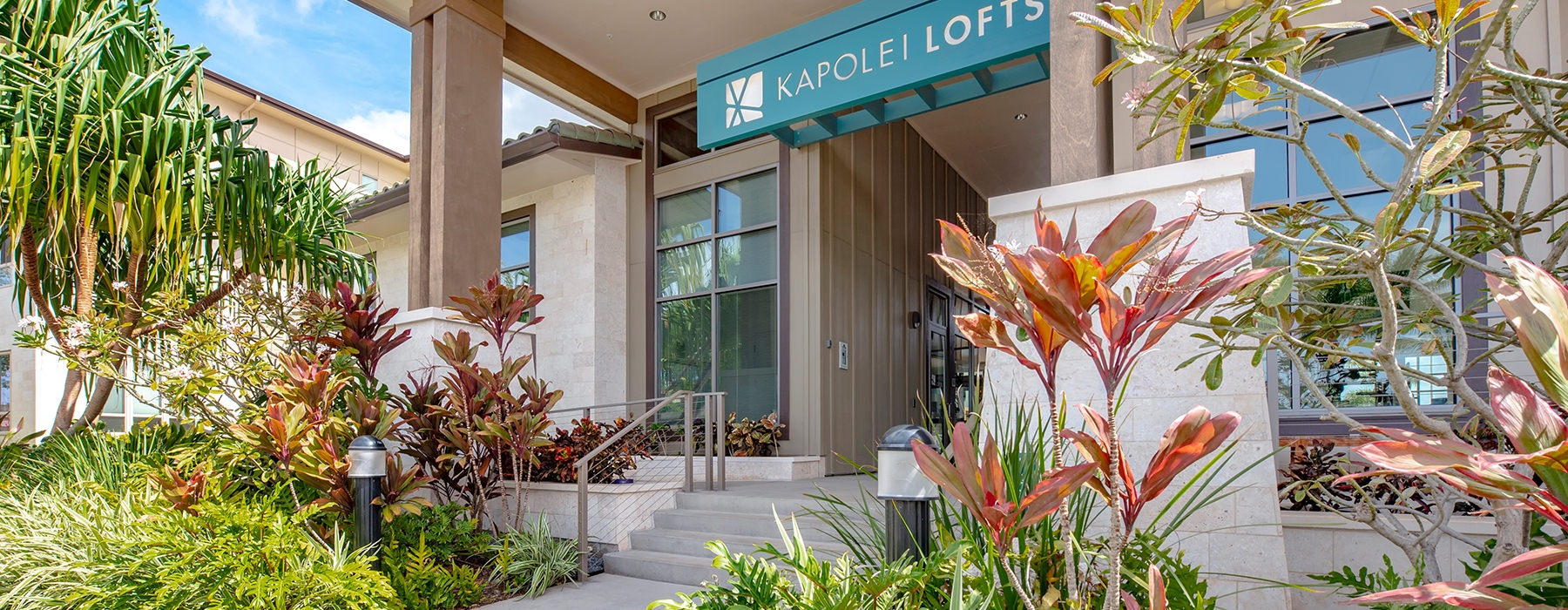 front office of Kapolei Lofts